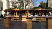 Les chalets en bois du Marché de Noël d'Annecy
