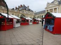 Vue d'ensemble du Marché de Noël de Dijon