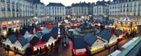 Vue du dessus de la Place Royale de Nantes